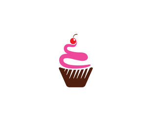 Cake sign icon vector illustration