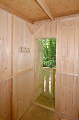 Baumhaus, Holzbau