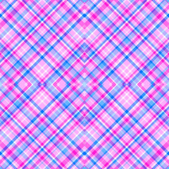 Seamless checkered background. Geometric wallpaper. Doodle for design. Print for polygraphy, posters, t-shirts and textiles. Art creation