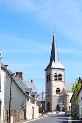 Village Bagnols in French Auvergne