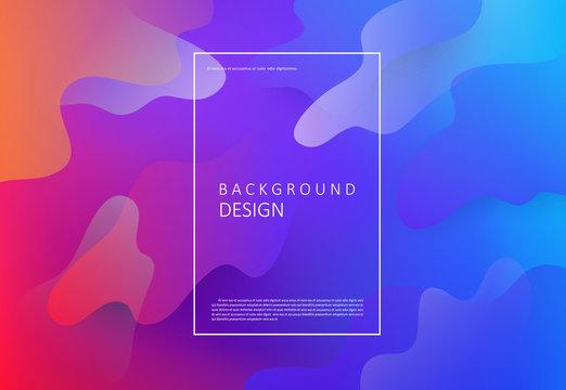 Fluid colors background