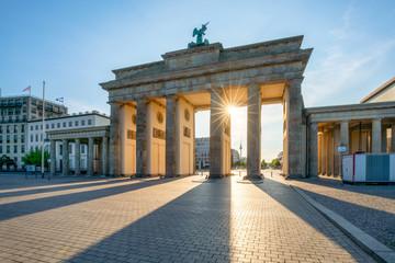 Poster Berlin Brandenburger Tor in Berlin, Deutschland