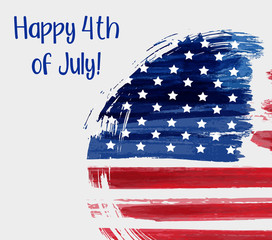 USA 4th of July background