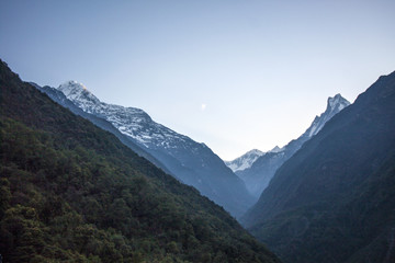 Himalaya Annapurna Trekking Morgens