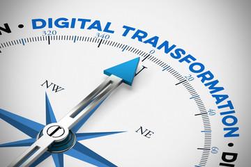 Digital Transformation / Digitaler Wandel als Konzept