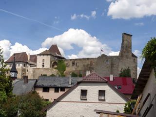 Lipnice Castle from the beginning of the fourteenth century, Czech Republic