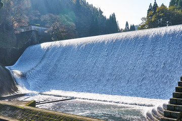 Photo sur Plexiglas Barrage 大分県 白水ダム