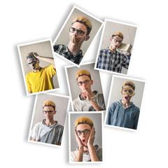 cartoline espressioni collage