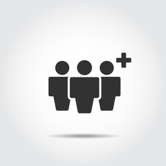 People Icon , Person work group Team Vector