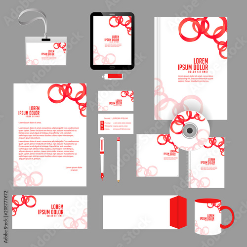 office stationery design templates
