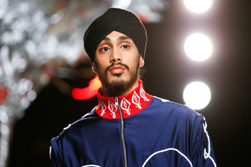 The Charles Jeffrey Loverboy catwalk show at London Fashion Week Men's, in London