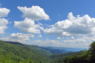 Majestic View of the Smoky Mountains