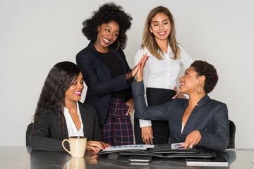Group Of Minority Businesswomen