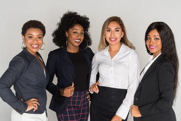 Group Of Minority Businesswomen