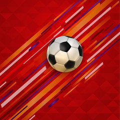 Soccer match event football ball background