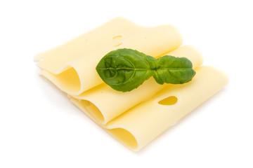 Käsescheibe käsescheiben mit Löcher. Auf weiß weißen Hintergrund freisteller freigestellt