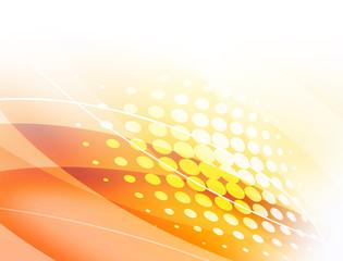 曲線 ウェーブ フレーム 抽象模様 曲線模様 光