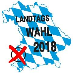 Landtagswahl 2018 in Bayern