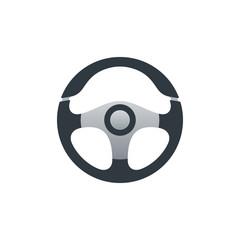 Flat cars steering wheel design