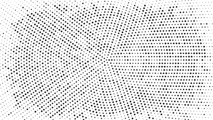 Halftone dotted background. Halftone effect vector pattern. Circle dots isolated on the white background. Wall mural