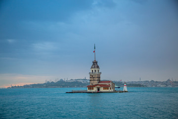 Maiden Tower is most beautiful architecture in Istanbul