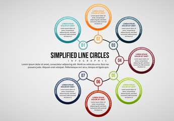 7 Step Circle Infographic