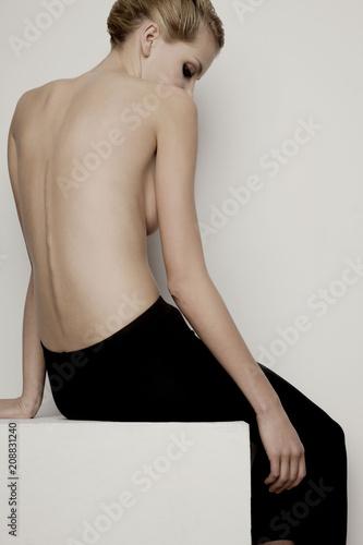 Model Beauty Pose