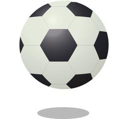 Soccer Ball Icon. Vector Illustration.