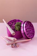 Pink Cannabis Grinder