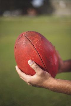 Australian Rules Football - anonymous player