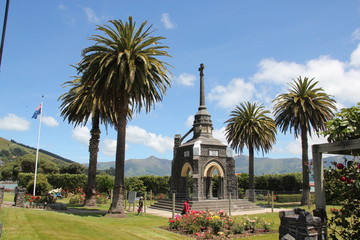 Anzac Memorial  Akaroa, New Zealand