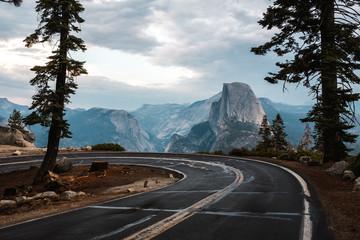 180 degree turn in Yosemite