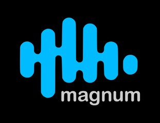 logo magnum waves ondas