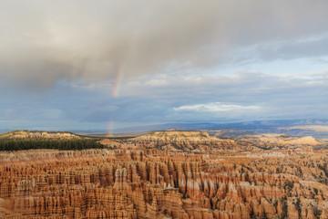 A Rainbow Over Bryce Canyon