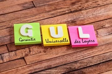 post-it acronyme : GUL