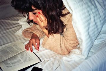 Hotel room reading