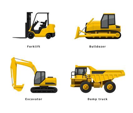 建設、工事現場:重機セット