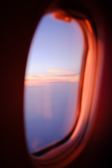 view of sky seen through window