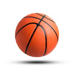 Basketball ball isolated on white background.