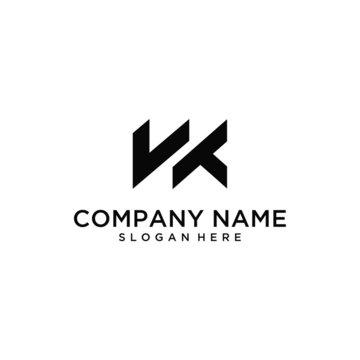 WK logo design