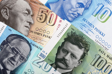 Money from Finland, a background