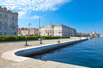 Trieste, the architectures and arts