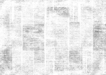 Vintage grunge newspaper collage background