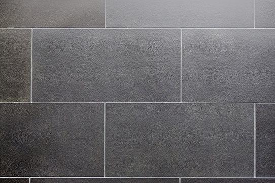 Ceramic tile, dark square seamless texture-gray, tile flooring