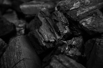 Fotoväggar - Abstract charcoal background