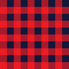 Checkered seamless pattern. Vector art.