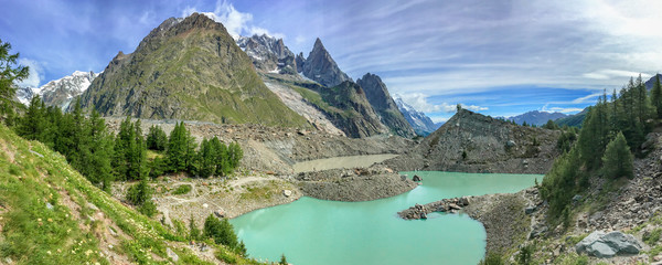Lac du Miage (Miage lake), Aosta Valley, Italy