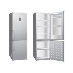 opening refrigerator
