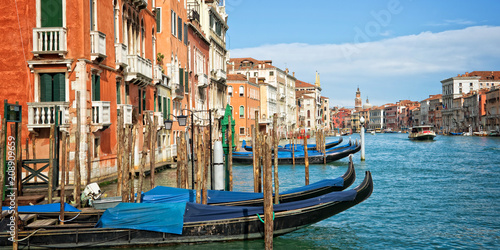 Wall mural Venice Italy, panorama of the grand canal