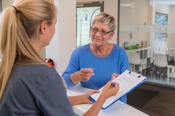 Fragebogen Arztpraxis